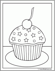 Small Picture Coloring Cupcake Coloring Pages Ace Coloring Page Cupcake