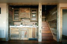 rustic wet bar basement cabinets with down kitchen faucets and glass cabinet doors reclaimed wood outdoor