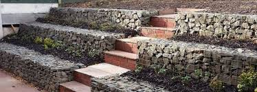 Small Picture Gabion retaining walls Stone wall ideas Gabion1 NZ