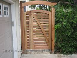 Brilliant Wood Fence Gate Plans A Red Cedar Double To Design Ideas