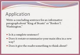 seventh grade lesson concluding sentences betterlesson writing workshop concluding sentences