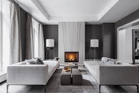 living room contemporary design. contemporary black and gray living room design