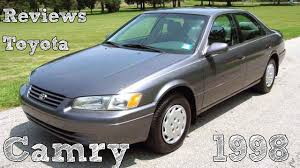 Reviews Toyota Camry 1998 - YouTube