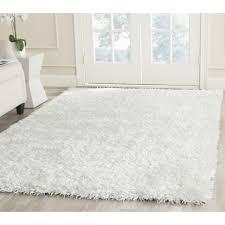 White Fluffy Bedroom Rugs Vintage Inspired Bedroom Rugs For Teenage ...