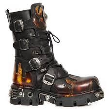 New Rock Men Women Reactor Fire Boots