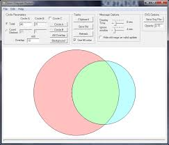 Venn Diagram Plotter Download Venn Diagram Plotter 1 4 3740 38143