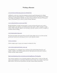 How To Make A Resume For Jobs New Unique New College Resume Sample