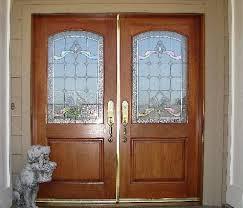 double half glass door furniture