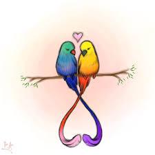 cute love bird drawing. Beautiful Bird Love Birds By RauniKai Bird Drawings Animal  Cute Drawings Inside Drawing Pinterest