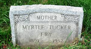 Myrtle Cain Tucker Fry (1898-1952) - Find A Grave Memorial