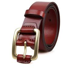 brown red leather belt 3 zpseoqndyba