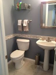 Exellent Half Bathroom Ideas Gray Charming Full Version With Concept