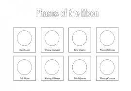 phases of the moon coloring pages for kids worksheet printable free printables unique photos