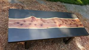 concrete and wood furniture. Picture Of Concrete And Wood Slab Table Furniture