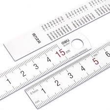 Scale Ruler Conversion Chart With The Scale Ruler Mapping Measurement Of Office