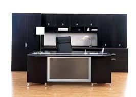 modern office credenza. Full Size Of Desk Interesting Rectangle Black Wooden Office Chrome Modern Table Lamp Credenza