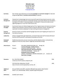 Gallery Of Resume Writing Employment History Page 1 My Job Resume