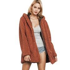 2019 fashion faux fur coats women lamb coats winter female coat thick warm outerwear fake fur jacket chaquetas mujer plus size s 3xl d18110805 from shen8403