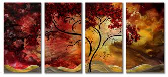 yhst 23119701400359 2171 61019587 on 4 piece metal wall decor with forest metal wall art blog