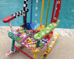 painted kids furniture. fine furniture hand painted kids rocking chair whimsical and painted kids furniture a
