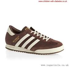 exclusive adidas mens originals beckenbauer allround brown whole suede leather trainers shoes training ilmnrtxy14
