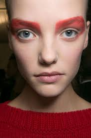 the most epic beauty looks from milan fashion week