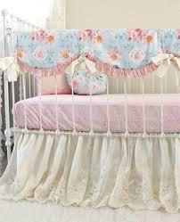 romantic blooms vintage fl baby bedding set