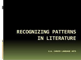 Patterns In Literature