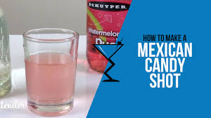 we present to you the mexican candy shot estimated calories 127kcal
