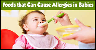 Foods that Can Cause Allergies in Babies - India Parenting