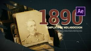 Life Story History Slideshow After Effects Template