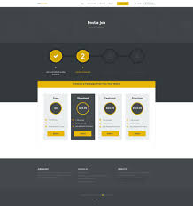 jobmonster job board psd template professional job board websites require specific features to function properly service for both job seekers and employers jobmonster job board psd
