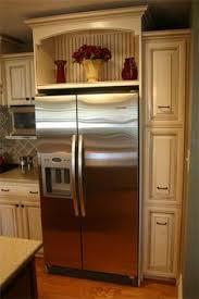above fridge cabinet ideas - Google Search