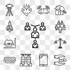 Set Of 13 Transparent Editable Icons Such As Mentorship Loyal