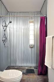 sheet metal wall great sheet metal home decor ideas house rustic bathroom bathroom basement bathroom house sheet metal