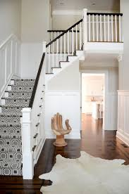 Carpet Runner For Stair decorating ideas gallery in Staircase Transitional  design ideas