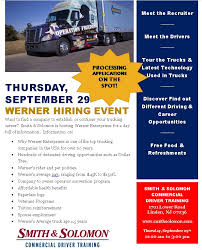 werner hiring event