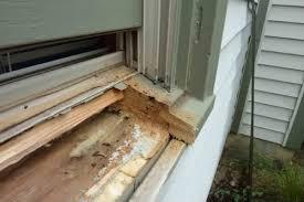 exterior window sill repair. 有人换过window sill exterior window repair m