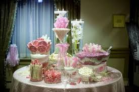 decorating round buffet table ideas