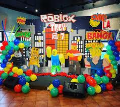Participa en el foro del juego roblox para pc. Fiesta Tematica De Roblox Para Ninos Ideas Para Las Fiestas Facebook