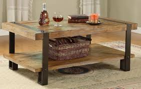 rustic wood and iron coffee table home interior design wood and iron furniture m15 wood