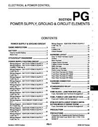 2009 infiniti g37 power supply ground circuit elements 2009 infiniti g37 power supply ground circuit elements section pg 103 pages