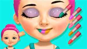 sweet baby pop stars take care of emma s skin dress up hair salon fun game