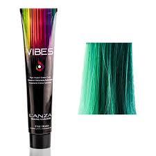 Lanza Healing Hair Color Chart Lanza Vibes Healing Haircolor Teal 3 Oz