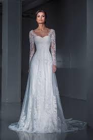 best 25 lace sleeve wedding dress ideas