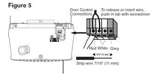 chamberlain garage door wiring diagram wirdig the foscam has a relay that shorts 2 wires pins 1 and 2 when