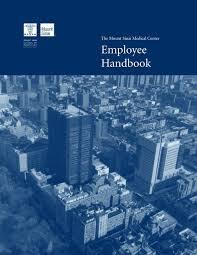 Employee Handbook Mount Sinai Hospital