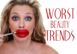 worst beauty trends ever