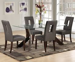 Alluring Glass Dining Room Set Dining Tables Beautiful Table Sets - Glass dining room furniture sets