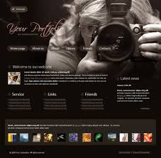 Real Focus Website Template 4317 Art Photography